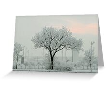 Eerie Days Greeting Card
