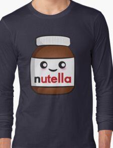 Nutella face 2 Long Sleeve T-Shirt