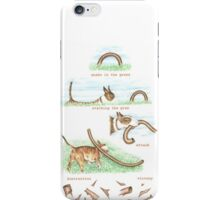 H IS FOR HUNTING From A Bull Terrier's Alphabet. iPhone Case/Skin