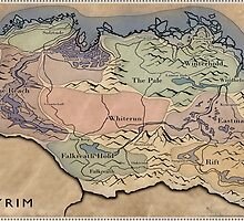 Map Skyrim by garcilaso
