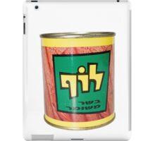 a tin of Luf, Israeli Kosher SPAM  iPad Case/Skin