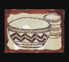 African clay pots - Ethnic series T-Shirt