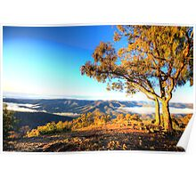 View - Kissing Point - Hill End NSW - The HDR Series Poster