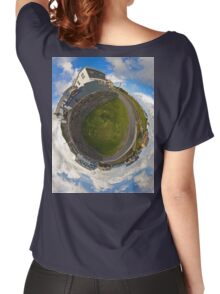 Tigh Ruairi - Inisheer Village (Sky out)  Women's Relaxed Fit T-Shirt