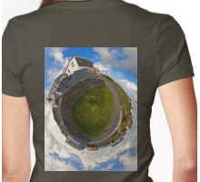 Tigh Ruairi - Inisheer Village (Sky out)  Womens Fitted T-Shirt
