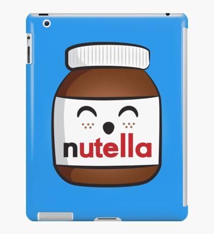Nutella face 3 iPad Case/Skin