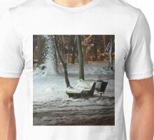 Winter Bench Unisex T-Shirt