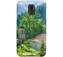 The Village Church - Impressions of Mountains and Forests Samsung Galaxy Case/Skin