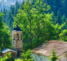 The Village Church - Impressions of Mountains and Forests Sticker