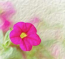 Colourful Calibrachoa by Kasia-D