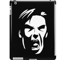 KHAN - NOOOOOOOO [White] iPad Case/Skin