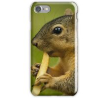Squirrel Eating a French Fry iPhone Case/Skin