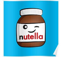 Nutella face 4 Poster