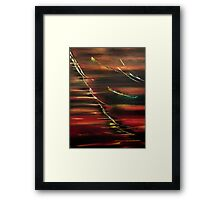 Autumn feelings Framed Print