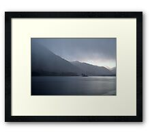 Storm Over Ullswater Framed Print