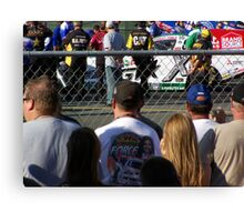 ASHLEY FORCE AT THE LINE Canvas Print