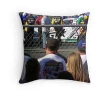 ASHLEY FORCE AT THE LINE Throw Pillow