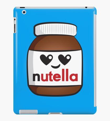 Nutella face 5 iPad Case/Skin