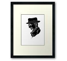 Walter White Heisenberg Framed Print
