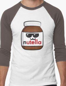 Nutella face 6 Men's Baseball ¾ T-Shirt