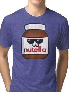 Nutella face 6 Tri-blend T-Shirt