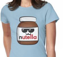 Nutella face 6 Womens Fitted T-Shirt