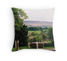 Pendle Hill 1 Throw Pillow