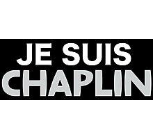 Je Suis Chaplin  Photographic Print