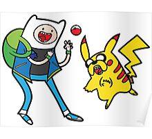 Pokemon Adventure Time Poster