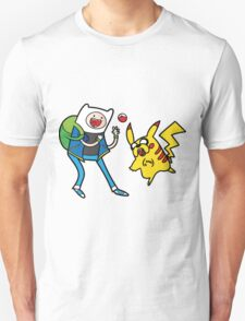 Pokemon Adventure Time Unisex T-Shirt