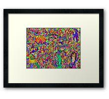 Woodstock Framed Print