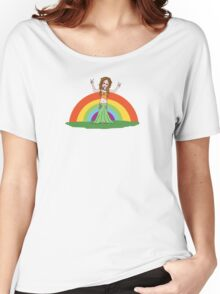 Rainbow Hippie! Women's Relaxed Fit T-Shirt