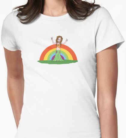 Rainbow Hippie! T-Shirt