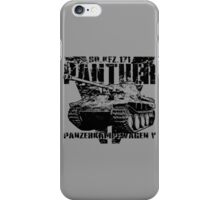 Panther V iPhone Case/Skin