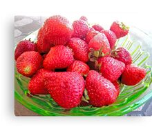 Berry Berry Nice! Canvas Print