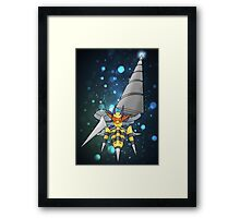 Mega Heaven Piercing Giga Beedrill Framed Print