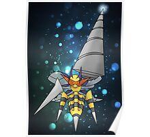 Mega Heaven Piercing Giga Beedrill Poster