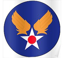 Army Air Force Poster