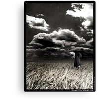 Screw The ScareCrow Canvas Print