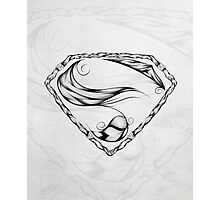 Super Feather Photographic Print