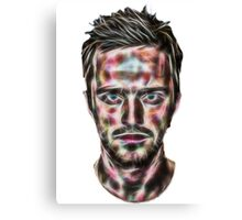 Abstract Jesse Pinkman Canvas Print