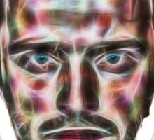 Abstract Jesse Pinkman Sticker