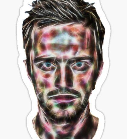 Abstract Jesse Pinkman Sticker