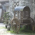 Old Carriage - ZhouZhuang 2003 by Roger Smith