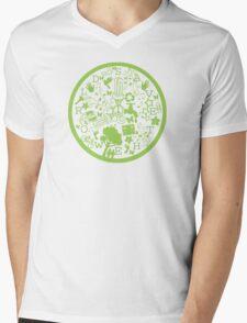 Help Save The World Mens V-Neck T-Shirt