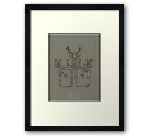 hieroglyphic 2 Framed Print
