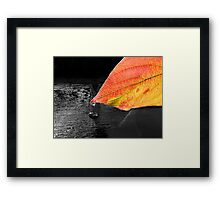 Dark Autumn Framed Print