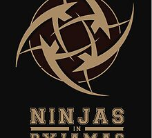Official   NiP - Ninjas In Pyjamas   Phone case by MAiNSTREAM-JX