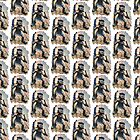 Minnie the Minx Tiled Duvet by Tom Gomez