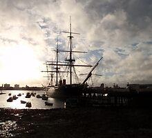 HMS Warrior by Malcolm Snook